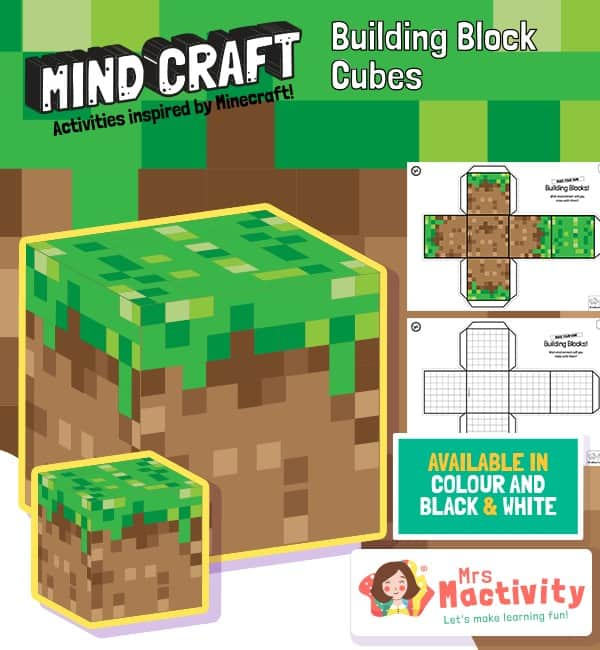 Mind-Craft Building Block Cubes