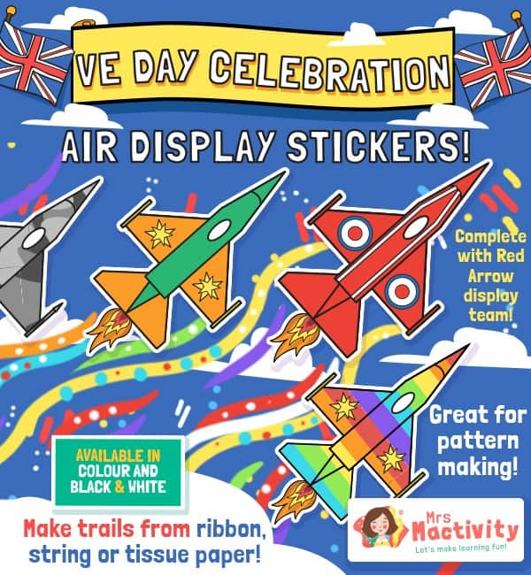 VE Day Celebration Air Display Activity