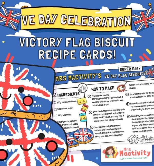 VE Day Celebration Flag Biscuit Recipe