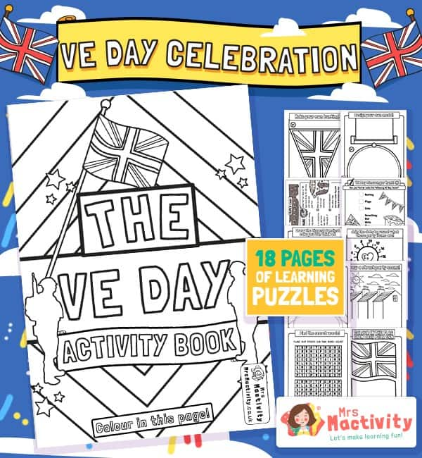 VE Day Celebration Activity Booklet