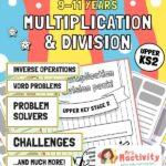 Upper KS2 (9-11) Multiplication and Division Unit Pack