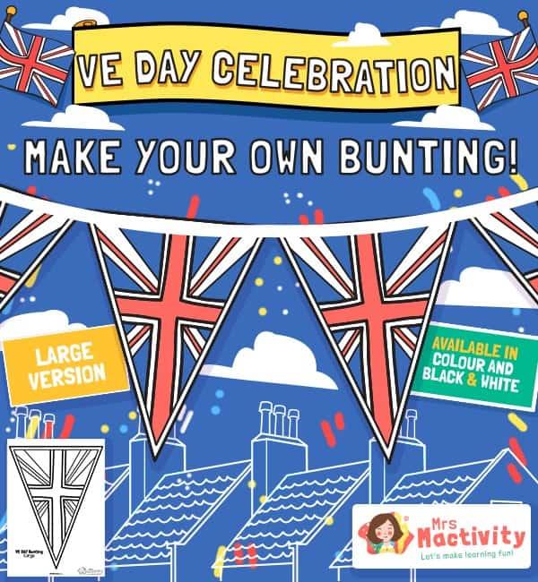 VE Day Celebration Bunting