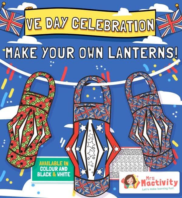 VE Day Celebration Lanterns