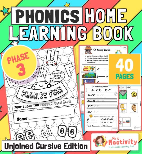 Phase 3 Phonics Mrs Mactivity
