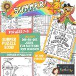Summer worksheets for kids\