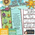 website preview END OF SCHOOL bookmarks