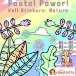 Pastel Classroom Display Stickers