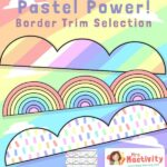 Pastel Classroom Display Borders