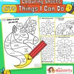 """Starting School Readiness """"I Can"""" Activity"""