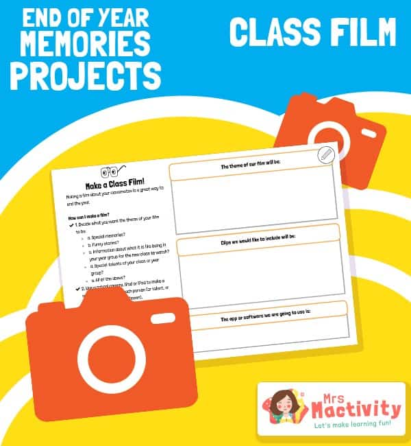 End of Year Memories Project - Class Film