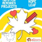 End of Year Memories Project - Design a Hope Leaf Activity