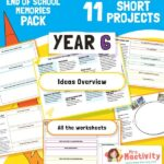 Year 6 End of School Memories Project