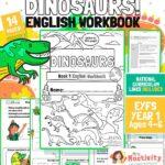 Age 4-6 Dinosaur English Workbook