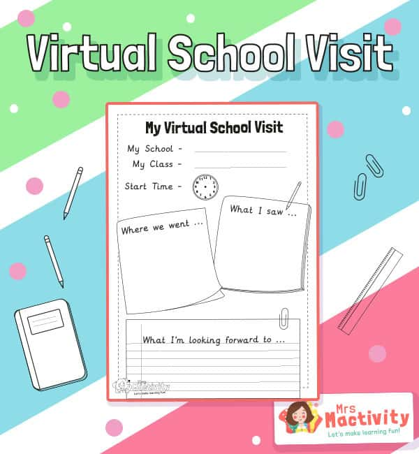 Virtual School Visit Activity Sheet
