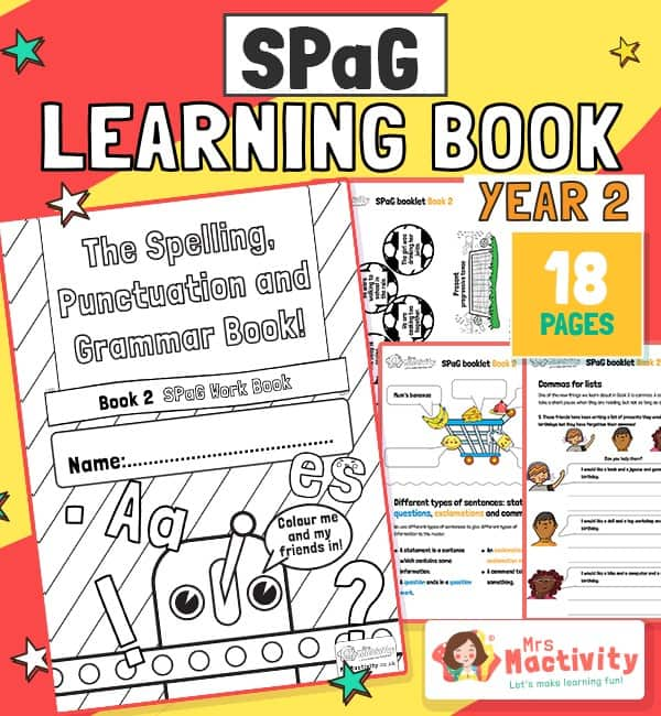 Year 2 SPaG Workbook