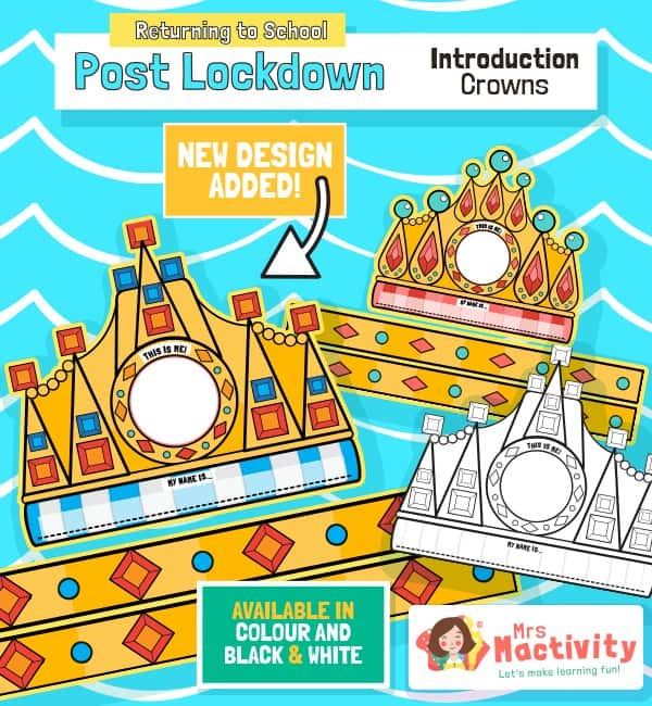 Post Lockdown Self Introduction Crowns