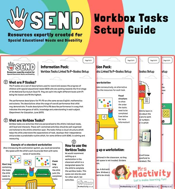 SEND Work Station and Workbox Set Up Guide