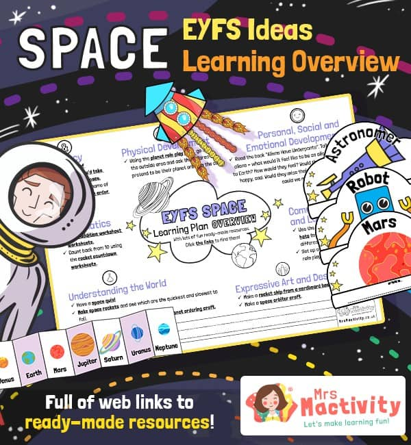 Space EYFS Planning Overview