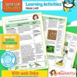 Social Distancing - Outdoor Learning Activities
