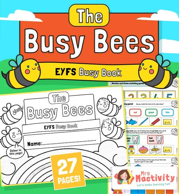 EYFS busy book
