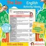 Zoo English Activities