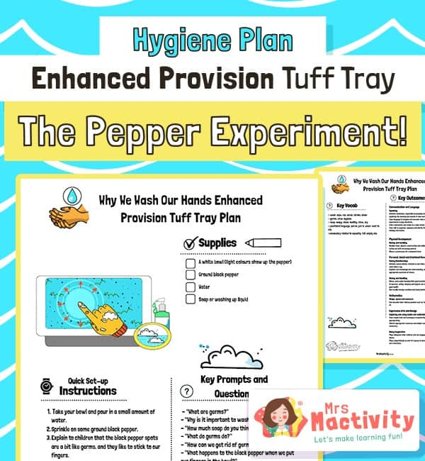 Pepper Hand Washing Enhanced Provision Plan