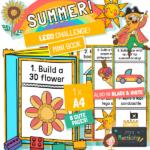 Summer Lego Challenge Mini Book