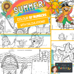 website preview SUMMER colour by numbers