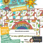website preview END OF SCHOOL certificates great pupil