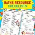 Maths Equipment Checklist