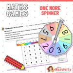EYFS Maths One More Number Spinner Activity