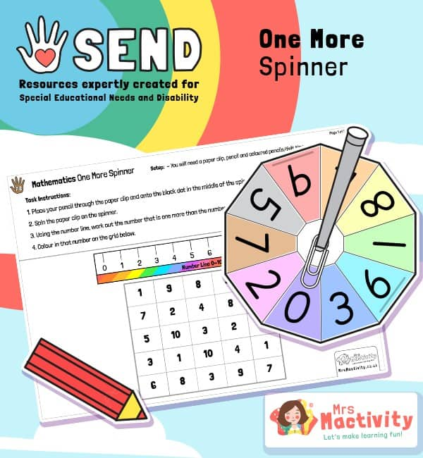SEND P8 One More activity