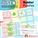 SEND P8 Maths Number Puzzle Activity