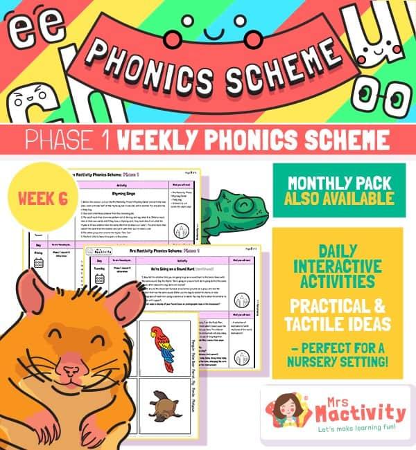 Phonics Scheme - Phase 1 Week 6