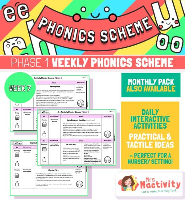 Phonics Scheme - Phase 1 Week 7