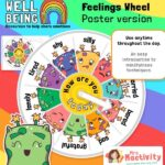 Feelings Wheel Activity
