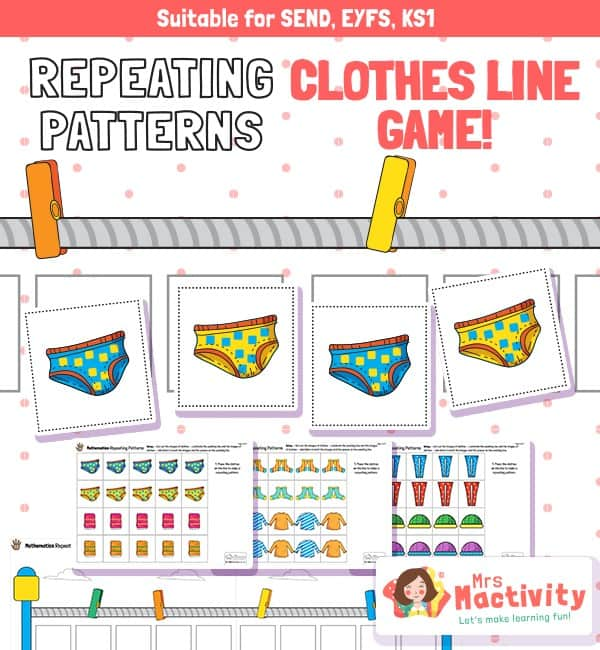 EYFS Repeating Patterns Game