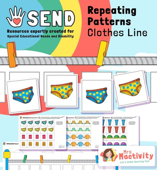 SEND P8 Repeating Patterns Game