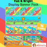 Classroom Subject Display Banner Pack