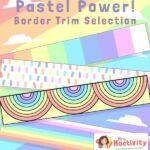 Pastel Classroom Display Borders - Straight