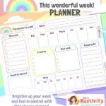 Teacher To-Do List Planner Template
