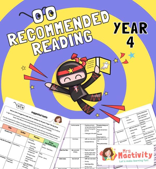 Year 4 Recommended Book List