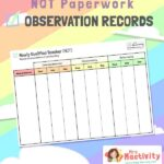 NQT Observation Record Template