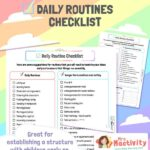 Daily Classroom Routines Checklist