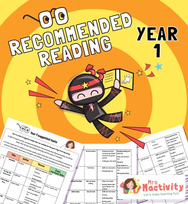 Year 1 recommended book list