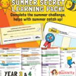 Lower KS2 (Age 7-9) Summer Catch-up Resource Pack
