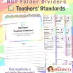 NQT Folder - Teachers' Standards