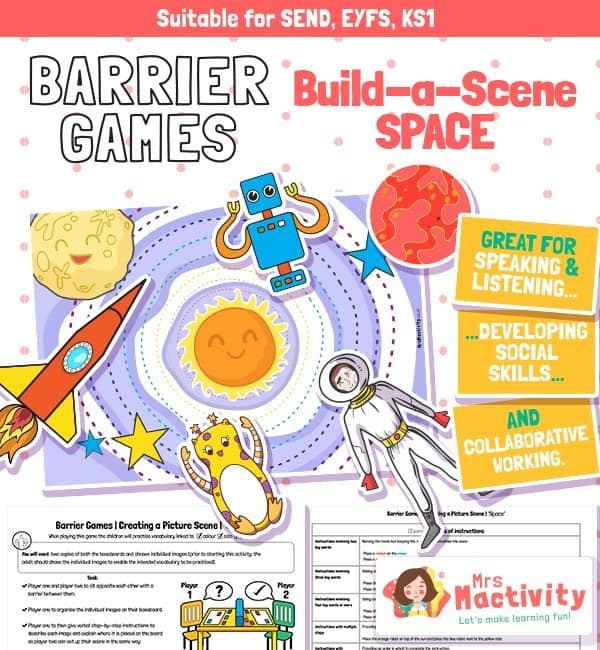 Space Barrier Game