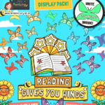 Reading Gives You Wings Display Pack