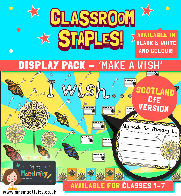 Make a wish transition display pack CfE